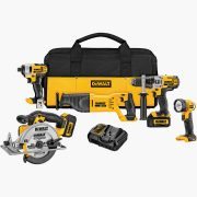 5-Tool 20-volt Max Lithium Ion Cordless Combo Kit