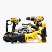 5-Tool 20-volt Max Lithium Ion Cordless Combo Kit_1